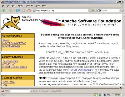 Configuring an Apache VirtualHost to use Tomcat | Fijiaaron