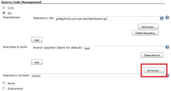 Skip internal tag Jenkins Git | Fijiaaron