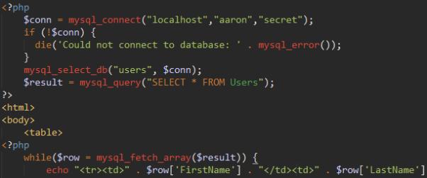 [Image - PHP MySQL Example]