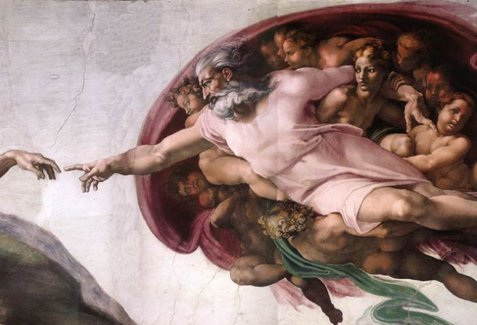 [Image – Michaelangelo's Sistine Chapel